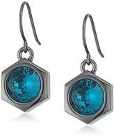 "Nicole Miller Artelier"" Hex Drop Earrings"