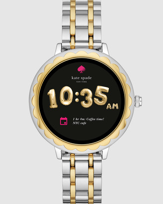 Kate Spade Scallop Two-Tone Smartwatch