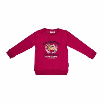 Salt&Pepper Salt and Pepper Girls' Sweat Royal uni APPL Stick Sweatshirt