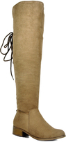 Refresh Taupe Miles Over-the-Knee Boot