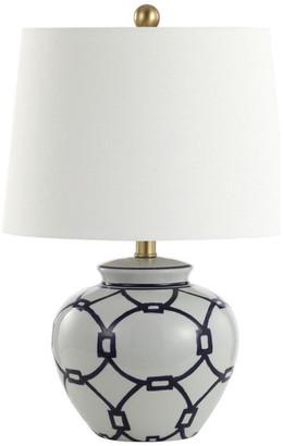 Studio Seven Anders Table Lamp, Blue/White