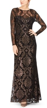Adrianna Papell Illusion Gown