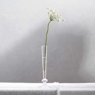 The White Company Single Bud Vase, Clear, One Size