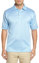 Bobby Jones Men's Pinwheel Jacquard Knit Polo