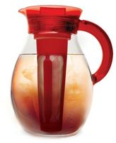 Primula The Big 1-Gallon Iced Tea & Cold Coffee Brewer in Red