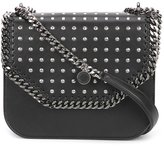 Stella McCartney studded Falabella box bag - women - Cotton/Polyester/Polyurethane - One Size