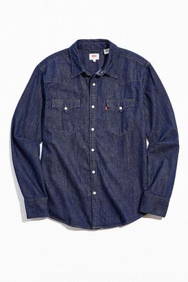 Levi's Levis Barstow Western Standard Denim Button-Down Shirt