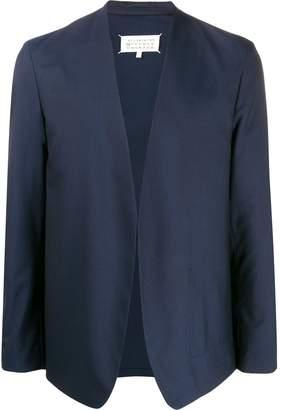 Maison Margiela collarless open-front blazer