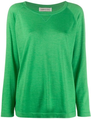 Lamberto Losani Raglan Sleeve Knit Top