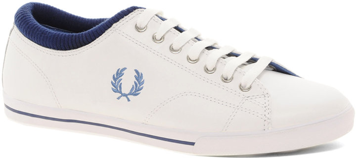 Fred Perry Reprise Leather Cuff Sneakers