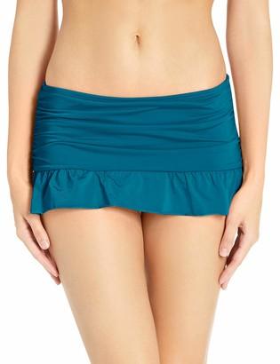 Kenneth Cole Reaction Women's Skirted Hipster Bikini Swimsuit Bottom