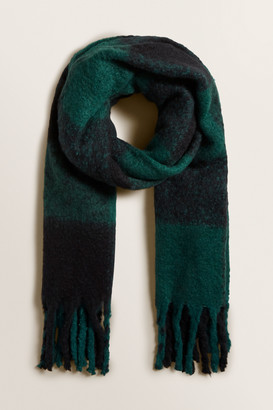 Seed Heritage Plush Check Scarf