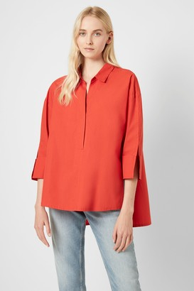 French Connenction Aoko Rhodes Popover Shirt
