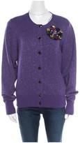 Chanel Purple Cashmere Knitwear for Women