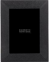 "Ginger Brown Shagreen 5"" x 7"" Picture Frame-BLACK"