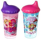 Nickelodeon PAW Patrol Skye and Everest Slim Sippy Cups