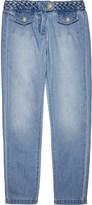 Chloé Plait hem denim jeans 4-14 years
