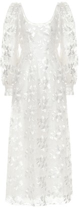 Brock Collection Quaneisha embroidered floral dress