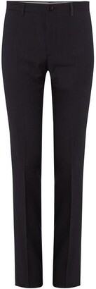 Paul Smith Slim Fit Red Fleck Suit Trousers