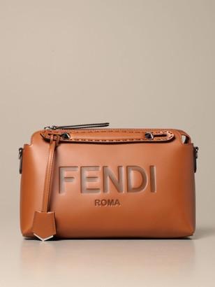 Fendi By The Way Bowling Bag In Calfskin