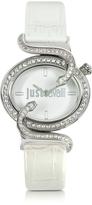 Just Cavalli Sin 2H Silver Tone Dial Women's Watch