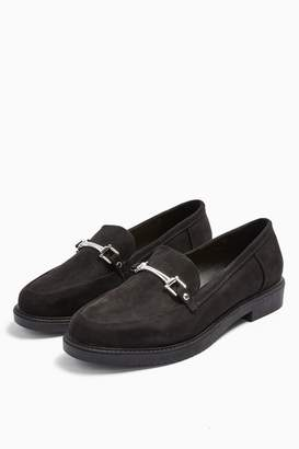Topshop WIDE FIT LOGAN Loafers