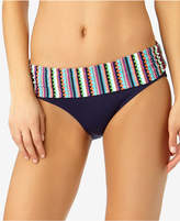 Anne Cole Friendship Bracelet Foldover Bikini Bottoms, a Macy's Exclusive Style