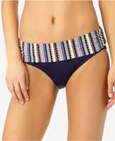 Anne Cole Friendship Bracelet Foldover Bikini Bottoms, Created for Macy's
