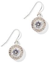 New York & Co. Glittering Round Drop Earring