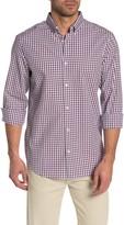 Perry Ellis Check Print Slim Fit Shirt