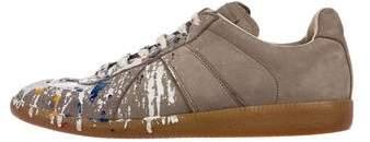 Maison Margiela Replica Paint Splatter Sneakers