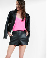 Express high rise (Minus the) leather short