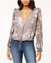 Astr Tiffany Floral-Print Blouse