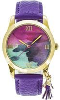 Boum Aquarelle Collection BOUBM3901 Women's Gold Analog Watch