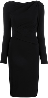 Talbot Runhof Tolgas fitted dress