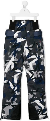 Perfect Moment Kids Star Print Padded Trousers