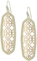 Kendra Scott Rose Gold Statement Earrings