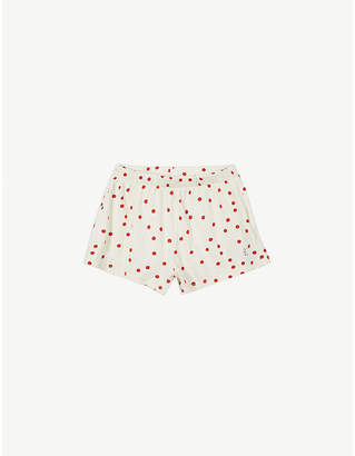 Bobo Choses Polka dot jersey cotton shorts 4-11 years