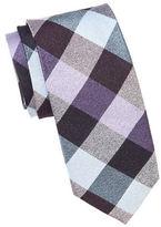 Cole Haan Checked Silk Blend Tie
