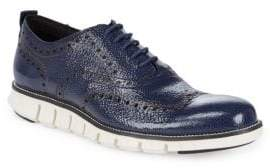 Cole Haan Wingtip Leather Oxfords