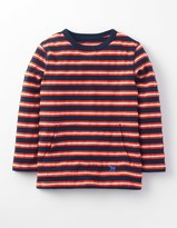 Boden Textured Stripe T-shirt