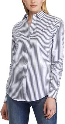 Lauren Ralph Lauren Striped Long-Sleeved Shirt