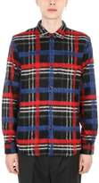 Golden Goose Deluxe Brand Crosbie Shirt In Blue And Red Tartan
