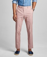 Todd Snyder Red Check Tab Dress Trouser