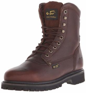 "AdTec Ad Tec Men's 8"" Work Boot (Brown Numeric_9_Point_5)"
