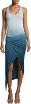 Young Fabulous and Broke Sassy Ombre Maxi Dress, Cobalt Ombre