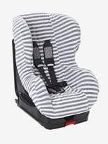 Elasticated Cover for Group 0+/1 Car Seat - grey/white striped, Nursery | Vertbaudet