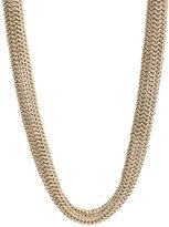 Gold Como Short Necklace