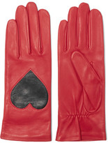 Christopher Kane Two-Tone Leather Gloves