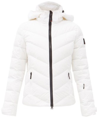 Bogner Fire & Ice Sassy Quilted Down Ski Jacket - White
